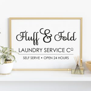 Laundry & Bathroom