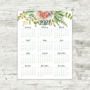 Printable Calendars & Planner Pages