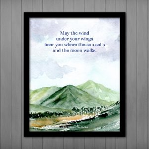 May the Wind... tolkien quote